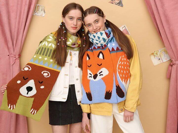 erzbtsqxy.jpg w720 - 暖冬礼物|温暖又百搭的围巾你准备好了吗?